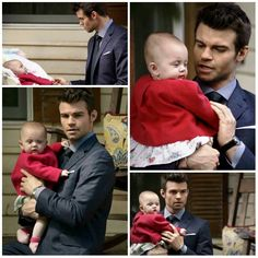 The Originals – TV Série - Elijah Mikaelson - Daniel Gillies - baby Hope Mikaelson - bebê - amor - love - sobrinha - niece - uncle - tio - - The Map Of Moments - Mapa Dos Momentos Elijah The Originals, Vampire Diaries The Originals, My Little Girl, Little Princess, Klaus And Hope, Kevin Williamson, Popular Book Series, Vampires And Werewolves, Hope Mikaelson