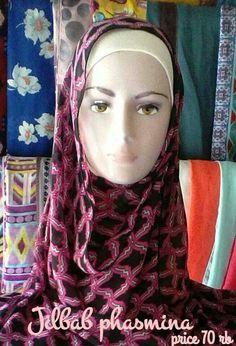 Phasmina hijab,bahan semiceruti price 70 rb