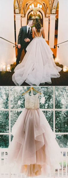 ball gown wedding dresses,tulle wedding dresses,backless wedding dresses,princess wedding dresses