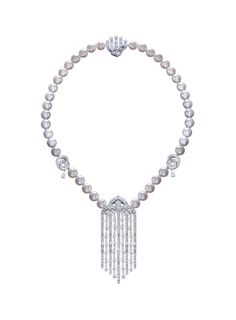Silk Palace Necklace by Gilan.