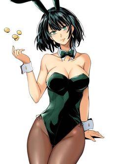 Anime Girl Hot, Pretty Anime Girl, Kawaii Anime Girl, Anime Art Girl, Thicc Anime, Chica Anime Manga, Girls Bunny Costume, Fille Anime Cool, One Punch Man Manga