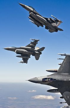 Fighting Falcons in Flight Military Jets, Military Weapons, Military Aircraft, Airplane Fighter, Fighter Aircraft, Air Fighter, Fighter Jets, F 16 Falcon, Naval