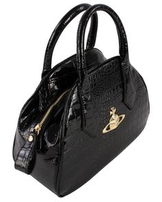 Handbags for Women | Vivienne Westwood New Chancery Bag - Black | Available at ww.kjbeckett.com