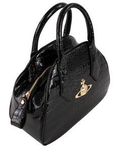 Handbags for Women | Vivienne Westwood New Chancery Bag - Black | Available at ww.kjbeckett.com