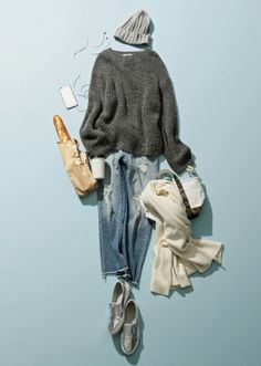 流行のオーバーサイズニットは二階堂ふみの着こなしがお手本|Today's Pick Up|ユニクロ