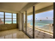 5151 Collins Ave. #1227 Miami Beach:  2,060 SQ FT 3 BD / 3 BA with direct ocean views. Custom upgrades include ceramic & marble floor, beautifully renovated kitchen & baths. Wood floors in bedrooms. Full amenity building with large heated pool and jacuzzi. Chaise lounges and umbrellas available on the semi-private beach. Also tiki hut for poolside dining, convenience store, salon, valet, health club and exercise facility and 24 hour security. Resort style living at its finest!