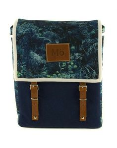 43e5d235d4b Tropic Dream Globby Backpack. via The Cools Blue Canvas, Backpack Purse,  Leather Interior