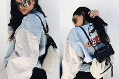 Kylie Jenner Shield Sunglasses
