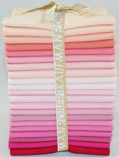 Kona® Cotton Solids, Pretty in Pink colorstory ©