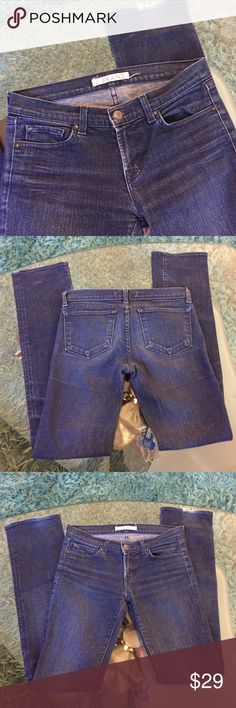 J Brand jeans Great condition J Brand stretch straight leg size 27 inseam 33 J Brand Jeans Straight Leg
