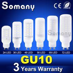 Bombillas Led Spotlight GU10 110V 220V LED Lamp Bulb 24-72 LEDs Lampada 5730 SMD Christmas Chandelier Candle Lighting Spot Light  EUR 0.50  Meer informatie  http://ift.tt/2hYSG9p #aliexpress