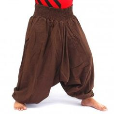 Harem pants, shalwar pants, cotton brown
