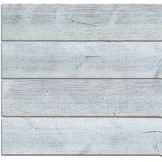 """Novogratz True Shiplap 7.44"""" x 46.5"""" Peel and Stick Vinyl Wall Paneling & Reviews   Wayfair Wood Plank Texture, Wood Planks, Wood Paneling, Stick On Wood Wall, Peel And Stick Wood, Vinyl Wall Panels, Wood Panel Walls, Blue Wood, Grey Wood"""