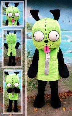 invader zim costumes for sale Diy Halloween Costumes, Halloween Costumes For Kids, Halloween Crafts, Halloween Decorations, Halloween Party, Costume Ideas, Halloween 2019, Cosplay Ideas, Pickle Costume