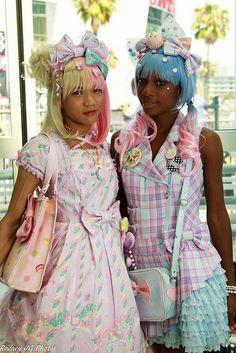 too cute sweet lolita Gyaru Fashion, Pastel Fashion, Harajuku Fashion, Kawaii Fashion, Lolita Fashion, Cute Fashion, Asian Fashion, Rock Fashion, Emo Fashion