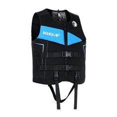 HISEA CE Buoyancy Aid Life ... Life Jackets, Size Chart For Kids, Rowing, Adult Children, Body Size, Picture Sizes, Boy Or Girl, Black And Grey, Vest