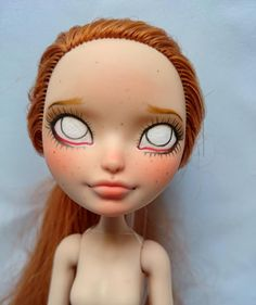 An Ever After High Repaint Tutorial by Charlotte of Milklegs Dolls | The Toy Box Philosopher