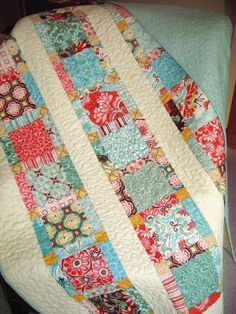 Pretty Quilt Pattern on Etsy