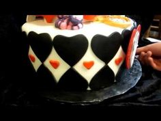 The Queen Fondant Cake - YouTube