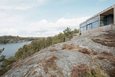 House on a Cliff by Petra Gipp and Katarina Lundeberg | HomeDSGN, a daily source for inspiration and fresh ideas on interior design and home decoration.