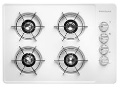 Frigidaire FFGC3005LW Gas Open Burner Style Cooktop in White