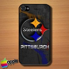 5b959009a Pittsburgh Steelers American Football NFL Team Logo iPhone 4   4S Case