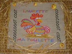 """CRéAdeS - Collection divers : """"Laurette ma poulette"""""""