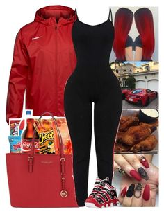 """""""Untitled #510"""" by issaxmonea ❤ liked on Polyvore featuring NIKE and MICHAEL Michael Kors"""