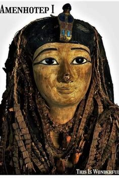 King Amenhotep I Ancient Egyptian Artifacts, Egyptian Mummies, Louvre, King, Statue, History, Face, Historia, The Face