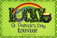 Pink Polka Dot Creations:  St. Patrick's Day Roundup of recipes and printables perfect for your St. Paddy's Day!
