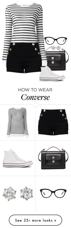 """""""Bribing."""" by foreverforbiddenromancefashion on Polyvore featuring Balenciaga, Alexander Wang, Boutique Moschino, Converse, Prada and Juicy Couture"""