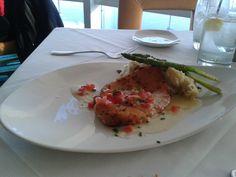 Chicken Romano. Chart House Atlantic City,NJ