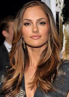 Warm toned brunette