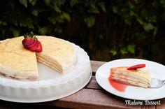 Mille Crêpes Cake | Madame Dessert