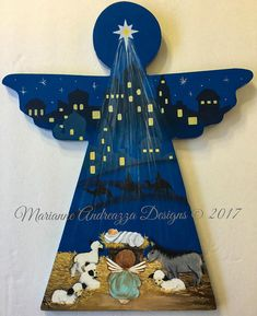 This item is unavailable Christmas Yard Art, Christmas Arts And Crafts, Christmas Nativity Scene, Diy Arts And Crafts, Christmas Signs, Christmas Angels, Christmas Projects, Christmas Ornaments, Nativity Creche