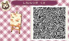 cocoa village forest diary (Animal Crossing: New Leaf) ◆ My design (the ground) Brick tile verdure ver. Tile#2 Last one--