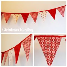 Christmas Bunting to hire Christmas Bunting, Scandinavian, Inspired, Decoration, How To Make, Gifts, Inspiration, Home Decor, Decor