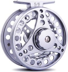 Amazon.com: Sougayilang Fly Fishing Reel with Large Arbor 2+1 BB CNC Machined Aluminum Alloy Body Spool Great for Freshwater Bass Fly Fishing (Silver, 5/6 Wt): Sports & Outdoors Fishing Life, Ice Fishing, Kayak Fishing, Fishing Reels, Fishing Tackle, Fishing Engagement, Casting Aluminum, Fly Reels, Bowfishing