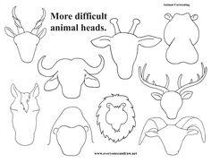 More animal heads