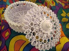 Beautiful Quilled Box