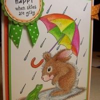 Item #2962 · Happy Hoppers · Heart Prints