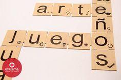 Cuadro con palabras, by Pato Da Cunha. http://www.utilisima.com/manualidades/8758-cuadro-con-palabras.html