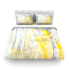 East Urban Home Abstraction by CarolLynn Tice Featherweight Duvet Cover Size: Full/Queen