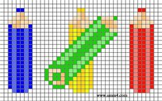 Hama Beads Design, Hama Beads Patterns, Beading Patterns, Perler Beads, Cross Stitch Bookmarks, Mini Cross Stitch, Crochet Chart, Crochet Blanket Patterns, Cross Stitch Designs