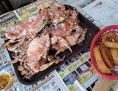 Delicious Meals, Yummy Food, Best Crabs, Seafood Restaurant, Delaware, Pulled Pork, Cheesesteak, Restaurants, Coastal