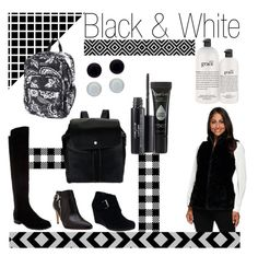 """""""Black & White"""" by qvcnetwork ❤ liked on Polyvore featuring moda, Marc Fisher, Isaac Mizrahi, Laura Geller, Dennis Basso, Vera Bradley, Honora, philosophy e fallstyle"""