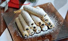 Romanian Desserts, Food Cakes, Sweet Cakes, Biscotti, Cake Recipes, Caramel, Bakery, Deserts, Good Food