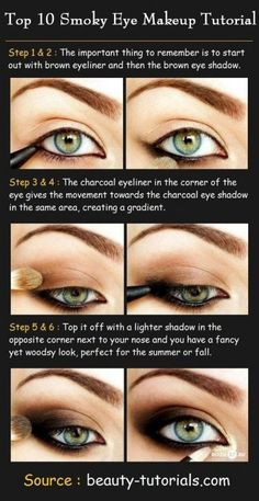 Simple DIY Smokey Eye Tutorials