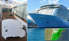 Is the Anthem of the Seas cursed? Cruise ship is forced to run around AGAIN after suffering a norovirus outbreak just weeks after being battered by 30-foot waves