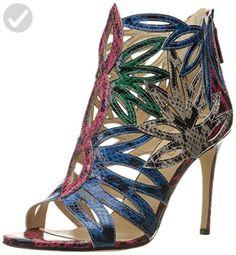 f9c9c2d0179 Nine West Women s Urgint Reptile Heeled Sandal